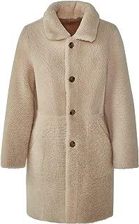 Massimo Dutti Women 100% Reversible Leather Coat 4707/847