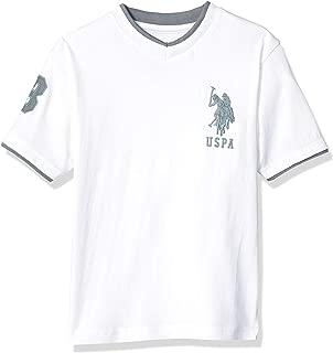 Boys' Short Sleeve Double V-Neck T-Shirt