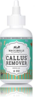 Maccibelle Callus Remover EXTRA STRENGTH For Feet, Professional Callus and Corn Eliminator Liquid Gel 4 oz