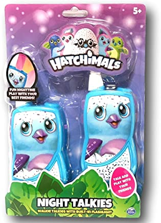 Hatchimals Night Talkies - Walkie Talkies with Built-in Flashlight