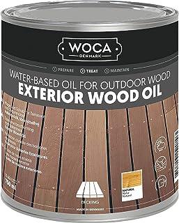 WOCA 617941A Exterior Öl, grau 0,75 L