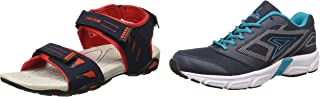 Power Men's Athletic & Outdoor Sandals + Aero Running Shoes (Size UK 9)