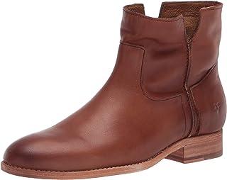 Frye Women's Melissa Slouch Bootie Ankle Boot, Tan, 6