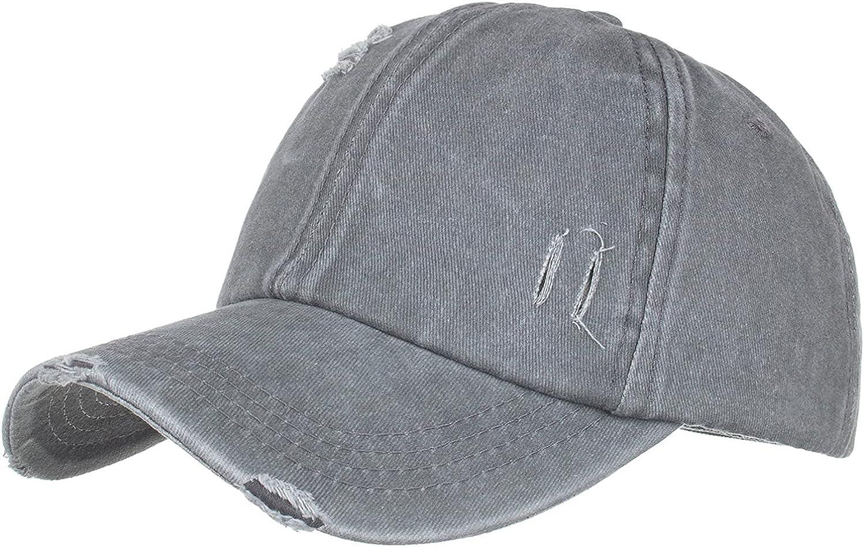 FNJJLU Unisex Vintage Baseball Cap Wash Ponytail Criss Hat Ranking TOP5 Cross Don't miss the campaign