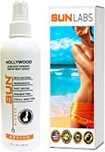 Self Tan Mist Hollywood 8 Oz Mist Spray Bottle Medium Self Tanner at Home Tanning by Sun Labs