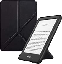 MoKo Case Fits All-NewKindle(10thGeneration-2019ReleaseOnly), Standing Origami Shell Cover with Auto Wake/Sleep, WillNotFitKindlePaperwhite10thGeneration2018 - Black