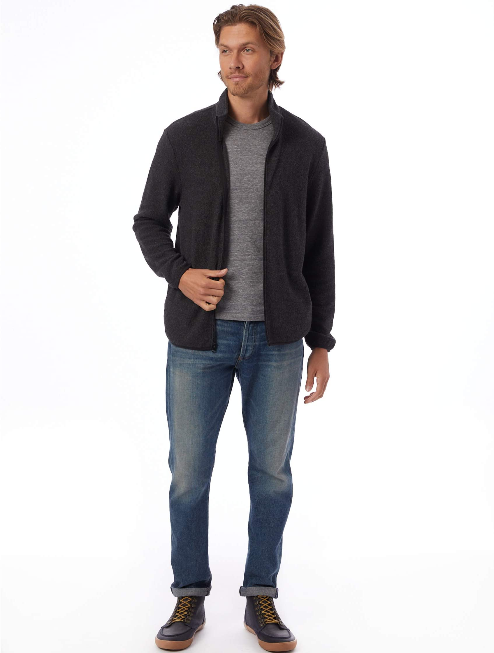 Alternative Eco-Teddy Full Zip Jacket SyqRQ