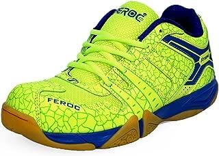 Feroc NOVA Green Badminton Shoes