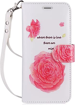 c77f4e4ab9f78e FYY Luxury PU Leather Wallet Case for Samsung Galaxy S8, [Kickstand  Feature] Flip
