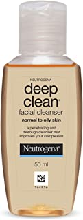 Neutrogena Deep Clean Facial Cleanser, 50ml