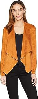 Liverpool Women's Stylish Draped Suede Jacket