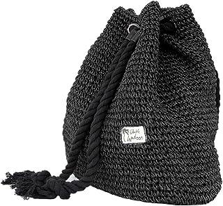 Tonwhar® Campus Fashion Straw Shoulder Bag Beach Backpack Purse