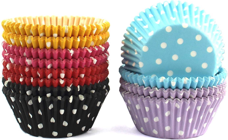 xlloest Moldes para galletas de papel 300 piezas