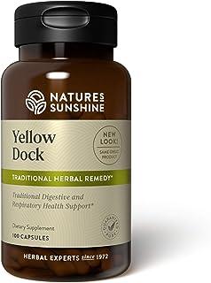 Nature's Sunshine Yellow Dock, 100 Capsules