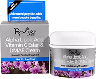 Reviva Labs, Alpha Lipoic Acid, Vitamin C Ester & DMAE Cream, 2 oz (55 g) - 3PC