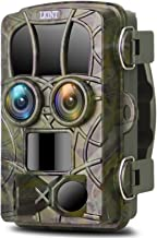 Trail Camera 20MP 4K Night Vision Dual-Lens Game Hunting...