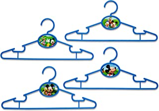 Delta Children 50 Piece Infant and Toddler Hangers, Disney Mickey Mouse