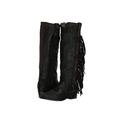 Old Gringo Acoma Tall (Black) Cowboy Boots