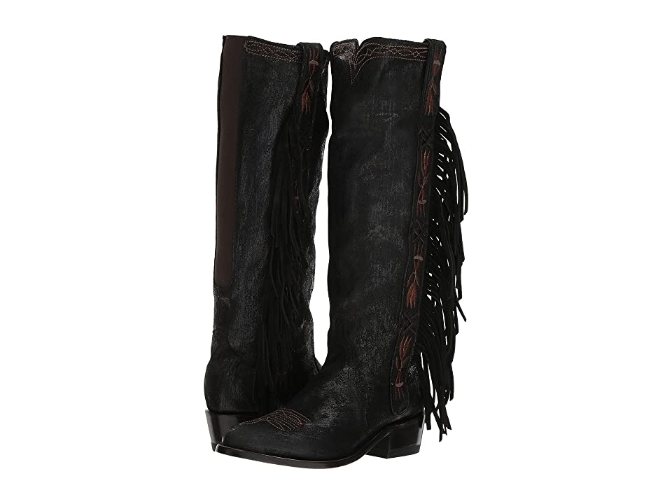 Old Gringo Acoma Tall (Black) Cowboy Boots
