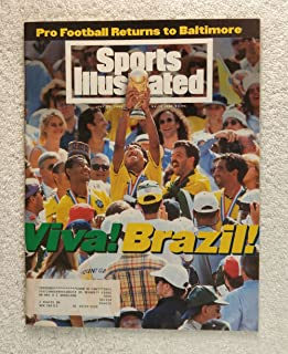 Viva! Brazil beats Italy - 1994 World Cup Champions! - Los Angeles - Sports Illustrated - July 25, 1994 - Held in the United States - Soccer -SI