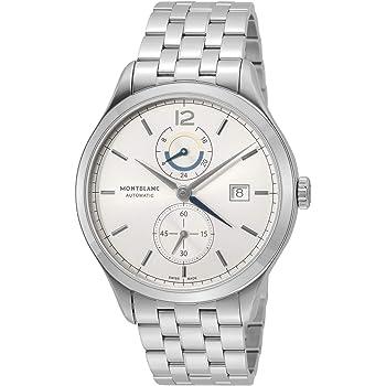 [モンブラン] 腕時計 ヘリテイジクロノメトリー シルバー文字盤 ムーンフェイズ 112648 メンズ 並行輸入品 シルバー