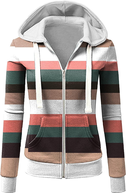 KIKX0DE Warm Coats Free shipping for Max 68% OFF Women Printi Long Stripe Patchwork Sleeve
