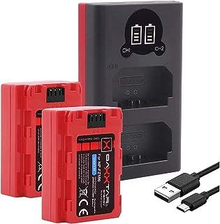 comprar comparacion Baxxtar Pro III (2X) Compatible con la batería Sony NP-FZ100 (también para Alpha 7R III Alpha 9 II Alpha 6600) con Cargado...