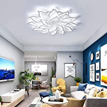 Modern LED Ceiling Light 18 Head Dimmable Creative Acrylic Ceiling Lighting Fixture for Bedroom Living Room Office Ceiling...