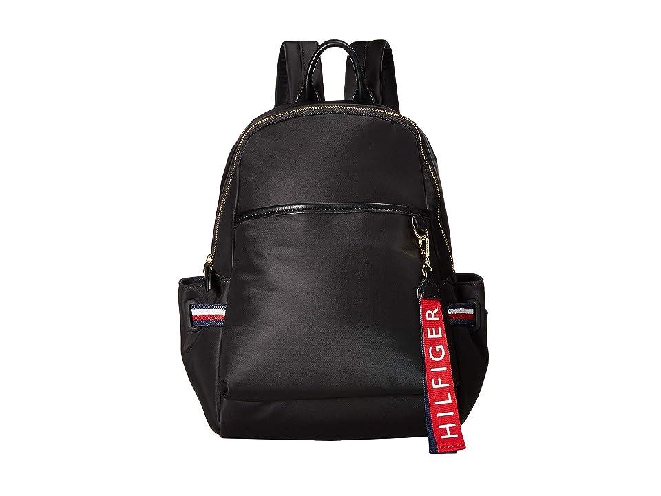 Tommy Hilfiger Shelly Backpack (Black) Backpack Bags