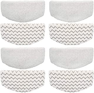 Ximoon Replacement 8 Steam Mop Pads for Bissell PowerFresh 1940 1440 1544 Series; Model 19402, 19404, 19408, 1940A, 1940Q, 1940T, 1940W