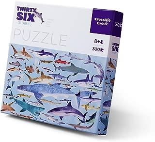 Crocodile Creek Shark 300Piece Jigsaw Educational Puzzle Floor