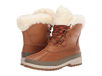 Sperry Maritime Winter Boot Leather (Tan) Women