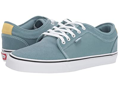 Vans Chukka Low (Smoke Blue/Pale Banana) Skate Shoes