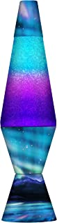 Lamp 2160 LVA2160 Colormax Northern Lights, 14.5-inches, Glitter with Clear Liquid and Decal Base