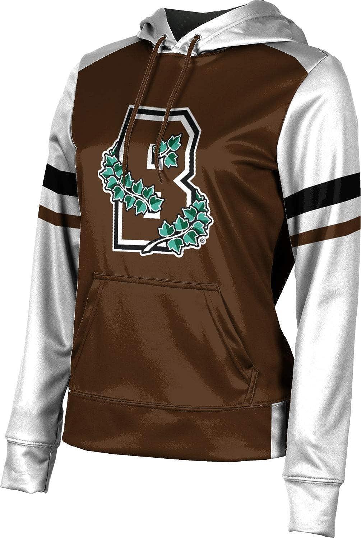 ProSphere Brown University Girls' Pullover Hoodie, School Spirit Sweatshirt (Old School)