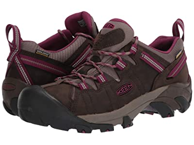 KEEN Targhee II Waterproof (Canteen/Boysenberry) Women