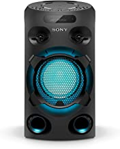 Sony MHC-V02 Home Audio Portable Party Speakerwith Bluetooth, Karaoke and Jet Bass Booster