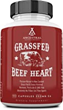 Ancestral Supplements Grass Fed Beef Heart (Desiccated) — Natural CoQ10, Supports Heart, Mitochondrial and Blood Pressure ...