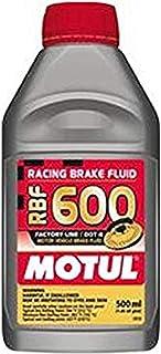 Motul std color MTL100949 8068HL RBF 600 Factory Line Dot-4 100 Percent Synthetic Racing Brake Fluid-500, 300. ml