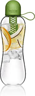 Bobble PLUS, reusable water bottle, filtration water bottle, infuse water bottle, carbon filter water bottle, BPA-Free water bottle, dishwasher safe, Tritan bottle, 20 fl oz. / 590 mL, Fern