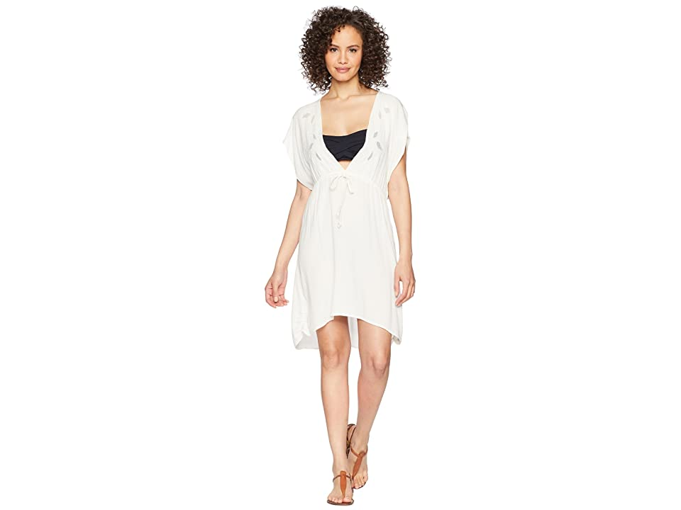Roxy Beach Side Babe Cover-Up (Marshmallow) Women