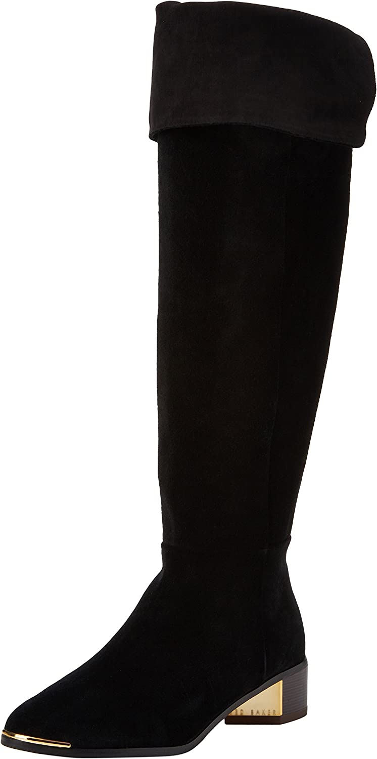 Ted Baker Nayomie - Black Suede Womens Boots