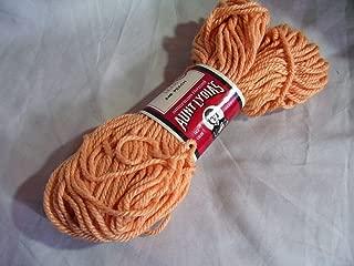 Aunt Lydia's Peach (Light Orange) Heavy Rug Yarn