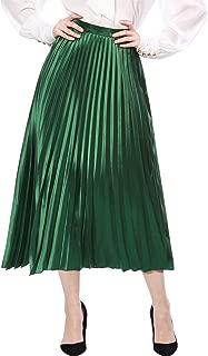 Best pink pleated skirt midi Reviews
