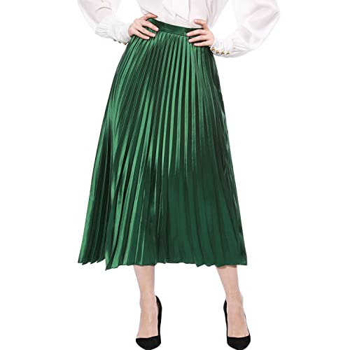 modern style fashionable patterns excellent quality Maxi Pleated Skirt: Amazon.co.uk