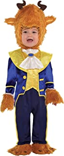 Beauty and the Beast Beast Costume for Babies, Size 6-12 Months, Includes a Jumpsuit, Booties, and More
