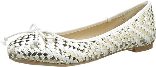 Buffalo zapatos C035c-4 P2137f A0026g PU, Bailarinas para mujer