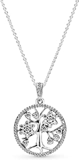 PANDORA Family Tree Necklace 390384CZ-80