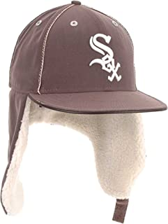New Era Chicago White Sox MLB 59FIFTY Fauxe Suede Fitted Cap 2011 Dabu - Chocolate Brown