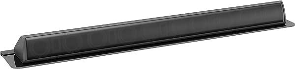 CorLiving MCS 408 S Black Tempered Glass Sound Bar Wall Shelf